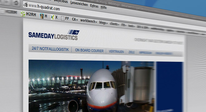 SamedayLogistics relaunch