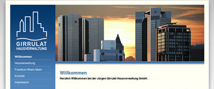 Girrulat Hausverwaltung relaunch