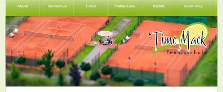 Tennisschule Timo Mack launch