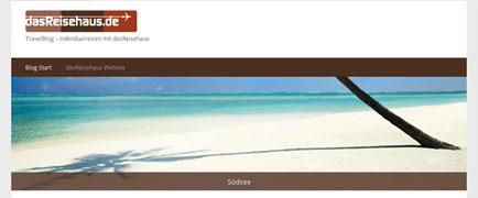 dasReisehaus TravelBlog launch