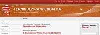 Tennisbezirk Wiesbaden launch