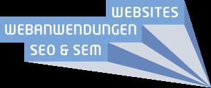 Webdesign Internetseiten Webentwicklung Webanwendungen SEO SEM