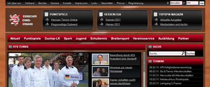 Hessischer Tennis-Verband relaunch