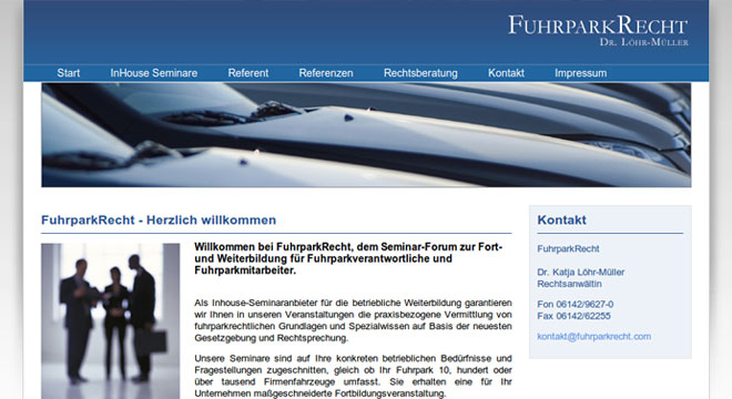 FuhrparkRecht launch
