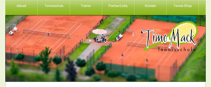 Tennisschule Timo Mack launch