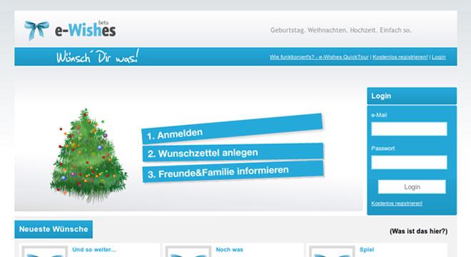 e-Wishes | Wünsch' Dir was!