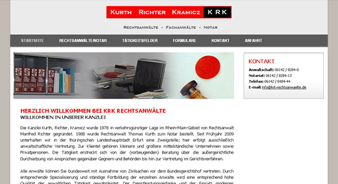 KRK Rechtsanwälte launch
