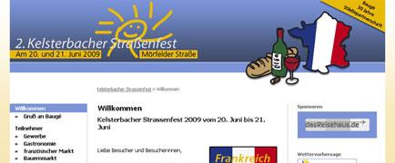 Kelsterbacher Straßenfest launch