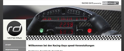 Racing Days launch
