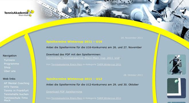 Tennisakademie Rhein-Main launch
